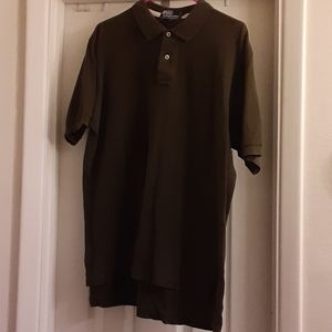 4/$20 Polo by RL sz large forest green polo shirt
